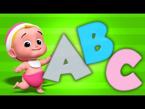 Kids TV Español Latino  Canciones Infantiles  canción abc para niños  ABC Song  Kids Music