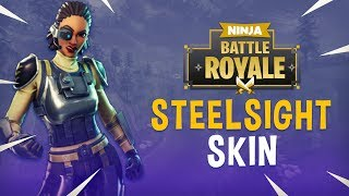 New Steelsight Skin!! - Fortnite Battle Royale Gameplay - Ninja