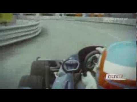 Onboard Tyrrel P34 F1 Race Car Monaco