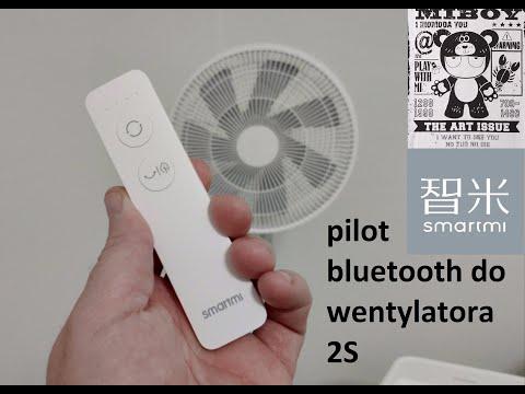 Pilot Bluetooth do Smart wentylatora Smartmi 2S od Xiaomi #miboytestuje