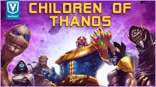 Who Are The Children Of Thanos?