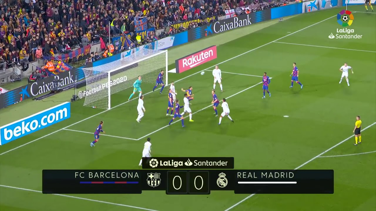 BARCELONA 0X0 REAL MADRID CLÁSSICO - YouTube