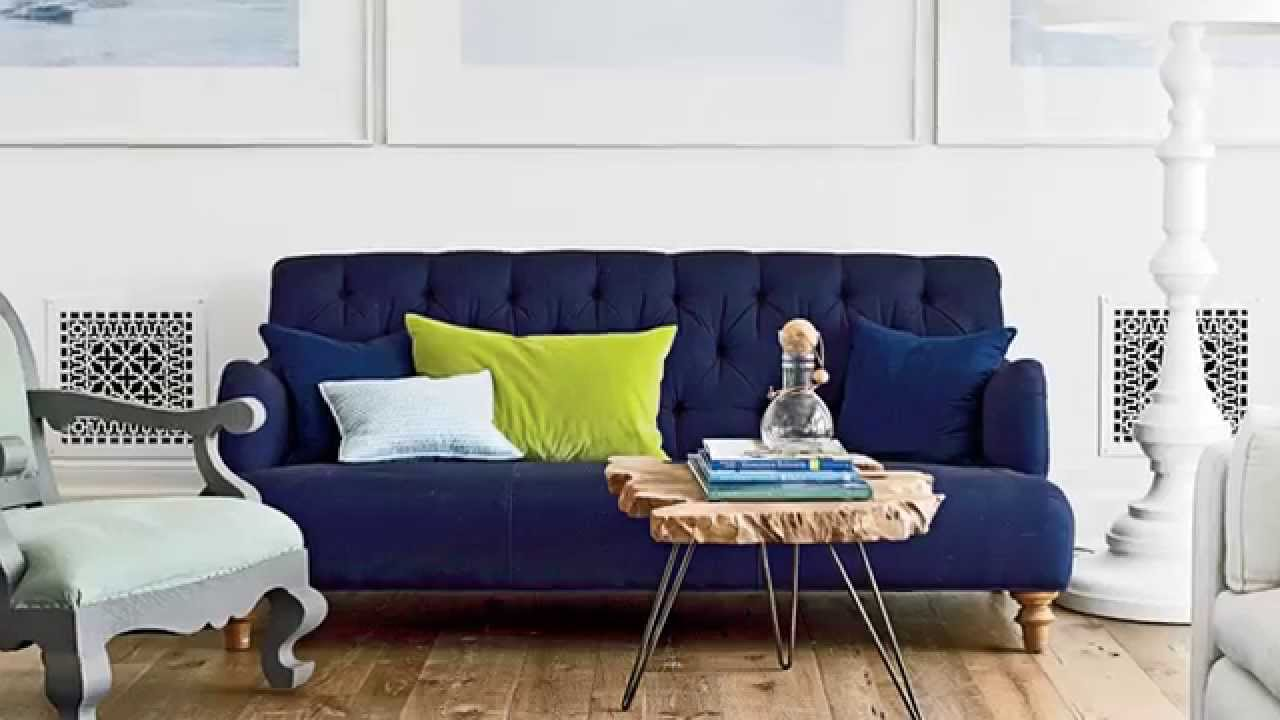 How To Pick The Perfect Living Room Color Palette Seaside Design Coastal Living Youtube