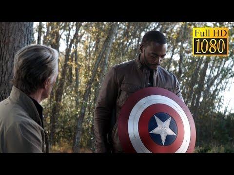 КАПИТАН АМЕРИКА ПЕРЕДАЁТ ЩИТ СОКОЛУ    Мстители: Финал ( Full HD )