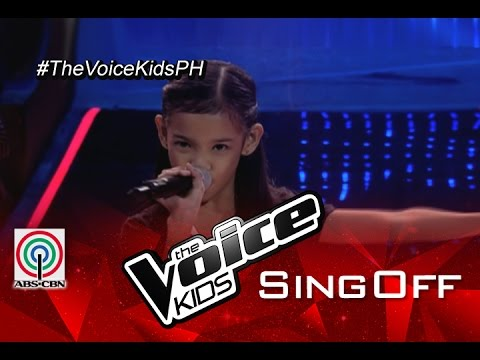 """The Voice Kids Philippines 2015 Sing-Offs Performance: """"Problem"""" by Zephanie"""