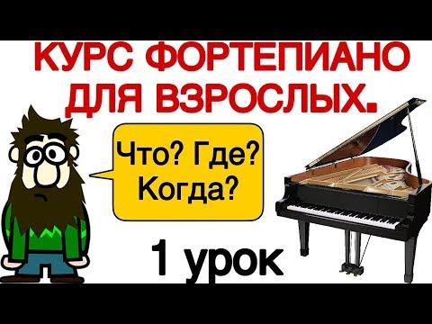 Видео уроки игры на фортепиано скачать торрент