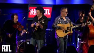 Sanseverino - Freddy en live dans le Grand Studio RTL