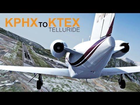 Prepar3D v4 | Rare 27 Approach KPHX to KTEX | Carenado 525A Citation CJ2