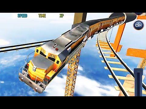 Impossible Train Sim - Level 17 Fail Because Crazy Funny Bug Using Tinyman Flight Train
