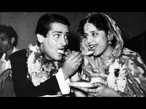 Shammi Kapoor Married With Geeta Bali By Lipstick