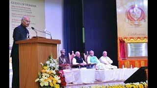 President Kovind addresses golden jubilee celebrations of M.C. Mahajan DAV College for Women