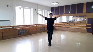 обучение крымскотатарским танцам - Урок 3