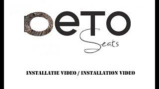 Installatievideo voor het installeren van jouw toiletbril van Deto Seats