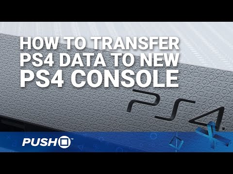 How to Transfer PS4 Data to New PlayStation 4 Console | PS4 Pro, PS4 Slim | Guide