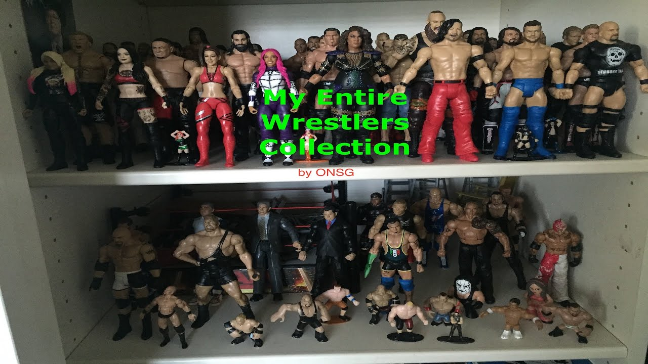 My Entire Wrestler Collection