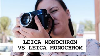 Photo Duel #46: Black and White w/ Leica Monochrom Type 246 vs Monochrom Classic