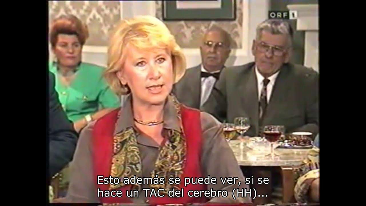 Cáncer de ovarios, paciente del Dr. Hamer 1994, ORF (TV Austría) Programa Seniorenclub