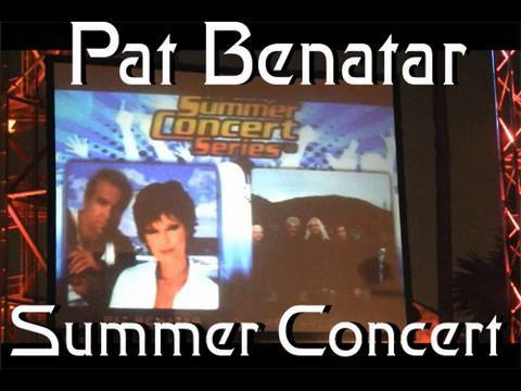 July 4th Summer Concert Pat Benatar