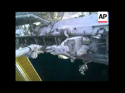 Astronauts finally manage to remove broken coolant pump