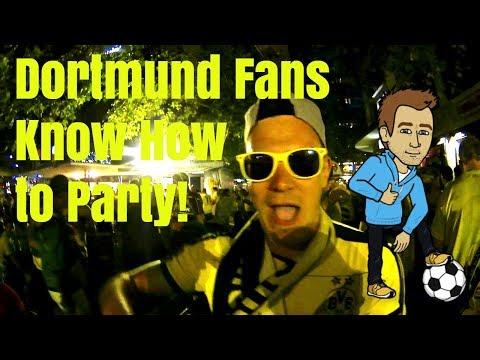 Fan After Party Pokalsieger 2017 Dortmund v Frankfurt - Reaction after 4 years waiting (Reupload)