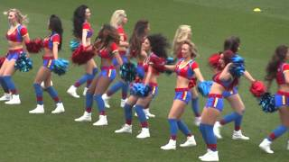 the Crystal Palace Cheerleaders/The Crystal girls