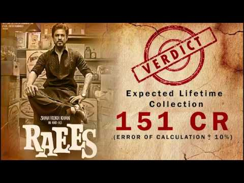 Raees| Raees Movie Review | Raees Will Be HIt Or Flop By Rahul V Dubey|Bollywood Movie Review|