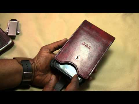 new product b0307 e96ce Leather Smartphone / Wallet Vertical Swivel Case Holster - YouTube
