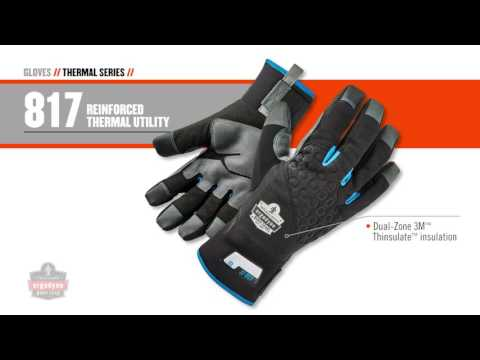 Ergodyne's Thermal Work Gloves Provide the Perfect Balance between Warmth and Dexterity
