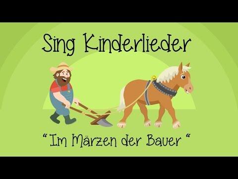 Im Märzen der Bauer - Kinderlieder zum Mitsingen | Sing Kinderlieder