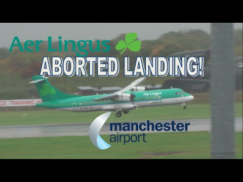 VIDEO: Moment Aer Lingus plane aborts landing seconds after wheels touch down