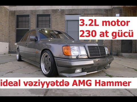 Əfsanəvi maşın: 3 2 motor 1989 Mercedes-Benz W124 300E Hammer 230 at gücü
