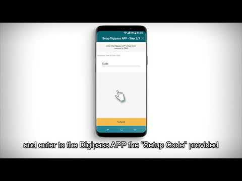 [HD] Digipass APP Setup