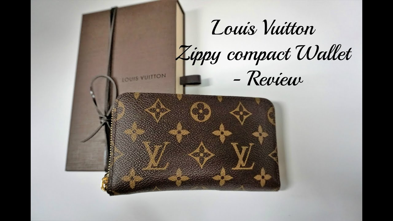 eec0f4058fbe Louis Vuitton Zippy Compact Wallet - Review - YouTube