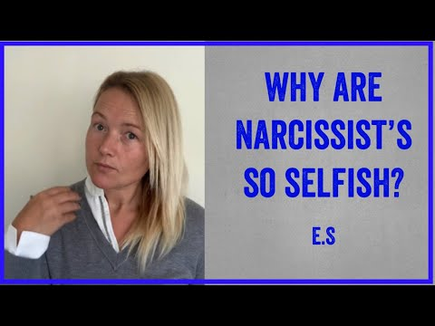 Why Are Narcissist's So Selfish? How They Love Bomb To Meet A Need Of Their Own.