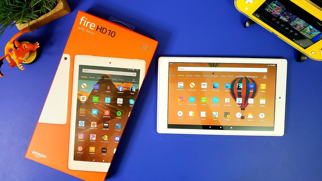 Amazon Fire HD 10 (2019) Review: Watch This Before Buying... - YouTube