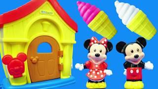 米奇妙妙屋:米老鼠的小房子過家家玩具