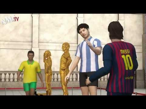 Phim hoạt hình về Messi cực hài (HD 1080)