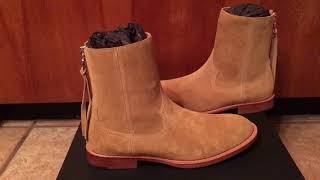 New Review and Unboxing Amiri Shane Boot
