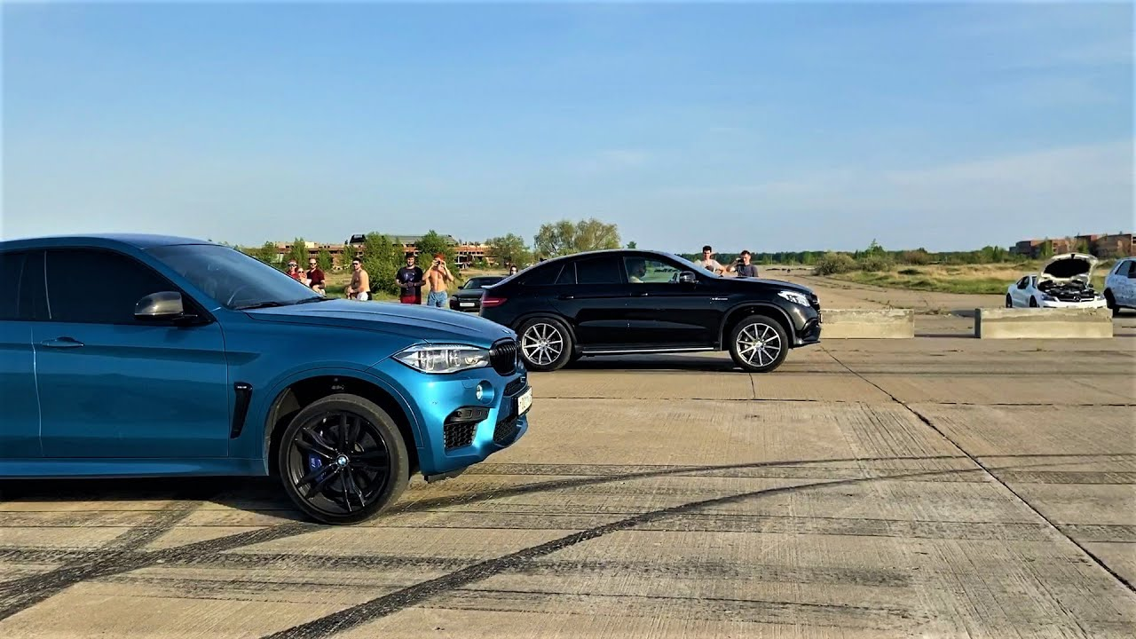Дерби: AMG 63 vs M | Mercedes-Benz GLE 63 vs BMW X6M / X5M / X5 M50d vs Mercedes-Benz ML63 w166