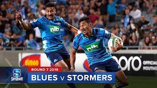 Blues v Stormers | Super Rugby 2019 Rd 7 Highlights
