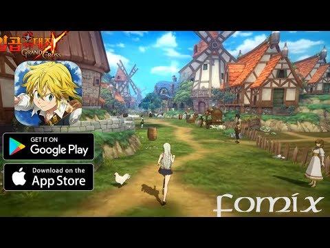 Мобильная RPG по аниме Семь смертных грехов The Seven Deadly Sins:Grand Cross (Android Ios)