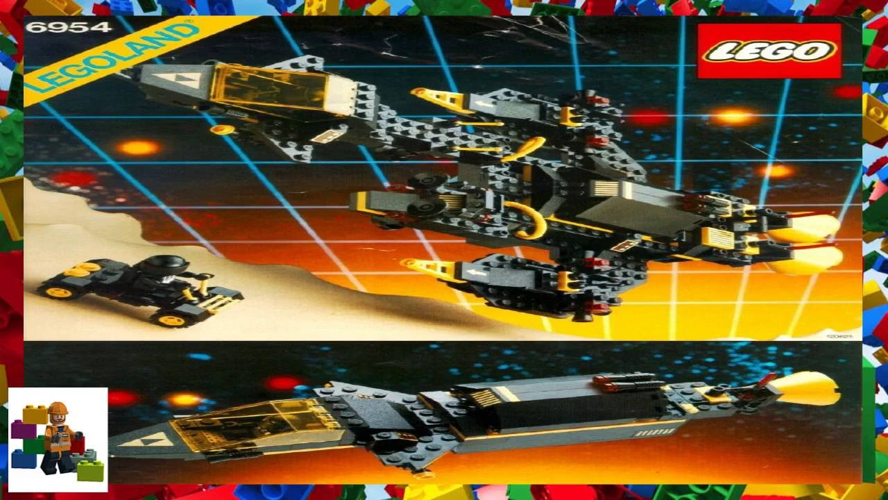 Lego Instructions Space Blacktron I 6954 Renegade Youtube