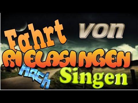 Fahrt von Rielasingen nach Singen.