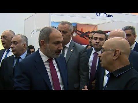 Пашинян посетил открытие ЭКСПО-2019 в Ереване