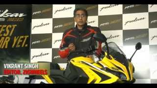 Vikrant Singh from Zigwheels reviews the Pulsar RS 200