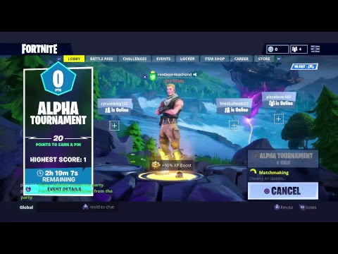 Fortnite tournaments