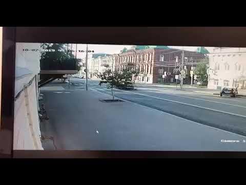 Эксклюзив.  ДТП на пересечении улиц Московской и Комсомольской  1