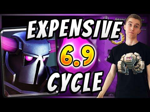 6.9 ELIXIR! INSANELY EXPENSIVE DECK  — Clash Royale