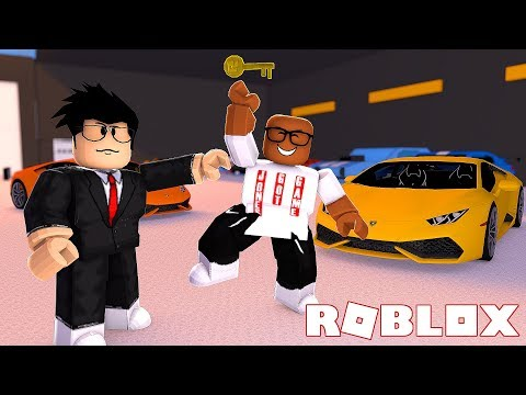BUYING MY FIRST LAMBORGHINI IN ROBLOX (Roblox Car Dealership Tycoon)