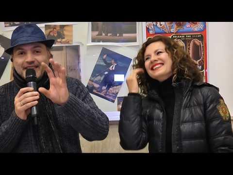 Politeama   intervista Benedicta Boccoli e Antonella Elia